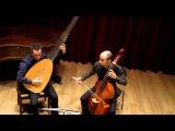 Marin Marais 'Chaconne' - Robert Smith, viola da gamba &amp Israel Golani, theorbo