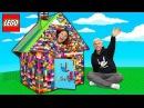 LEGO BOX FORT!! MAYKA TOY BLOCK TAPE
