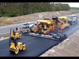 Modern Road Construction Russia USA Germany Australia Wet Weather Road Asphalting Mega Machines