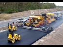 Modern Road Construction Russia USA Germany Australia Wet Weather Road Asphalting Mega Machines