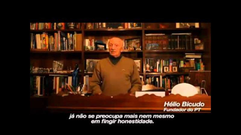 Hélio Bicudo Fundador do PT de Lula e Dilma da Petrobrás- Manifesto em Defesa da Democracia