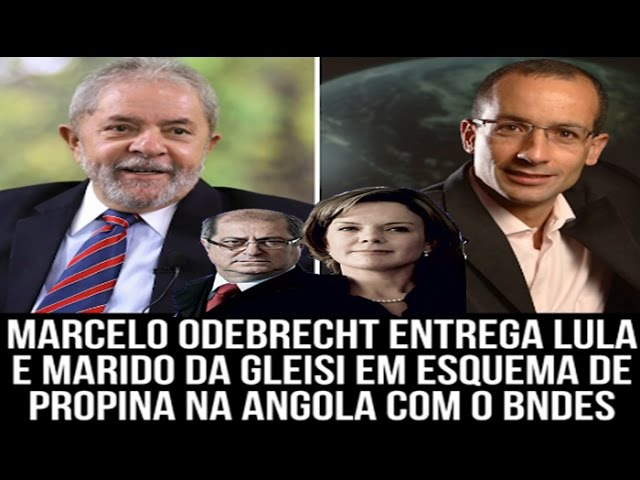 OUÇA TRECHO!Marcelo Odebrecht entrega Lula e Paulo Bernardo Marido de GLEISI em esquema de propina