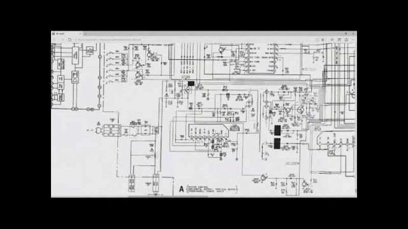 Sony kv-m2180k не включается... или не рабочий способ проверки микросхем бп