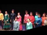 Лазоревый цветок, Казачья справа, Воля, Старина и Браты поют финальную песню на Казачьем круге 2018