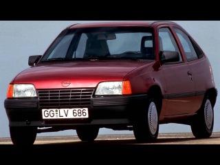 Opel Kadett 3 door E '1984–89