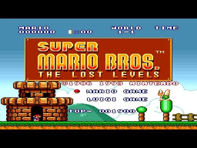[LONGPLAY] SNES - Super Mario All-Stars - Super Mario Bros - The Lost Levels