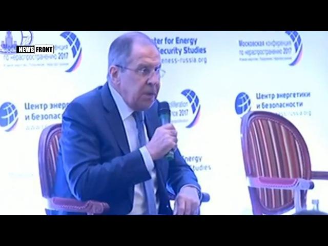 Министр МИД РФ Сергей Лавров: США пытаются представить Россию злостным нарушителем ДРСМД