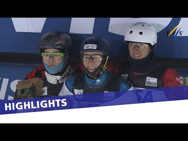 Bronze medal Anton Kushnir in Deer Valley Aerials Highlights