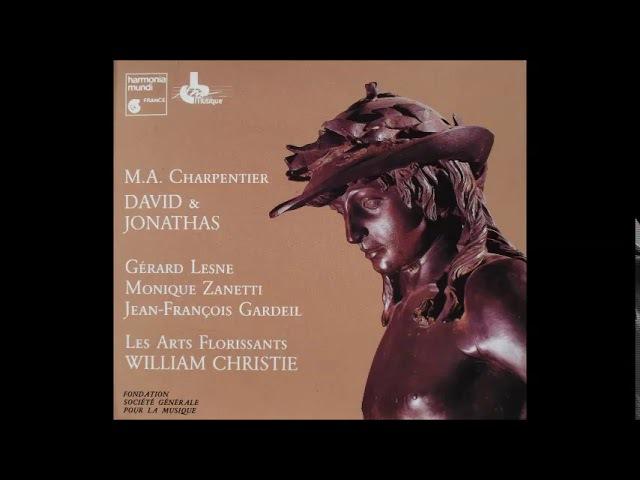 CHARPENTIER DavidJonathas / Les arts florissants William Christie