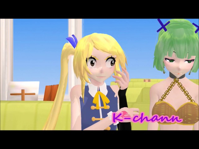【MMD x Fairy Tail】Funny Compilation (Part 2/Model DL)