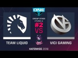 Liquid vs VG RU #2 (bo3) ESL One Katowice 2018 Major PlayOff 24.02.2018