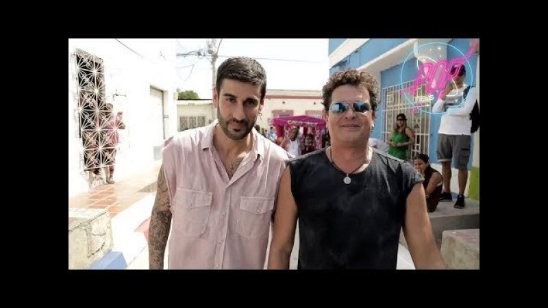 Melendi y Carlos Vives en El Arrepentido