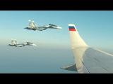 Воздушный ЭСКОРТ ПРЕЗИДЕНТА Су-30СМ Сирийский патруль ВКС России !!! vk.comkino_vks_vmf_ross