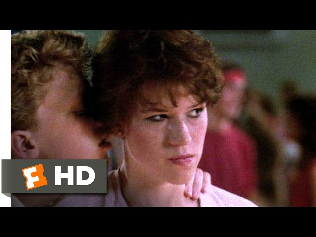 Sixteen Candles (610) Movie CLIP - The Geek Dances (1984) HD