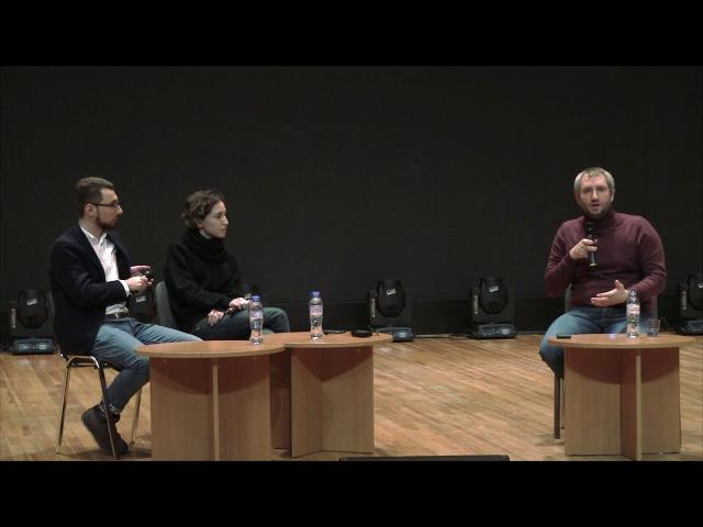 Режиссёр Юрий Быков Творческая встреча в Бауманке 08 12 2017