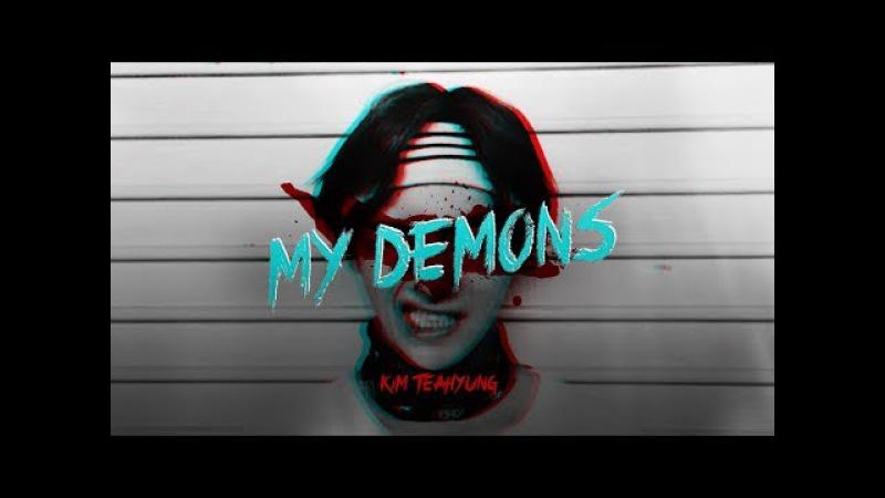 Kim taehyung | ❞ my demons ❝ 「murderer!au」