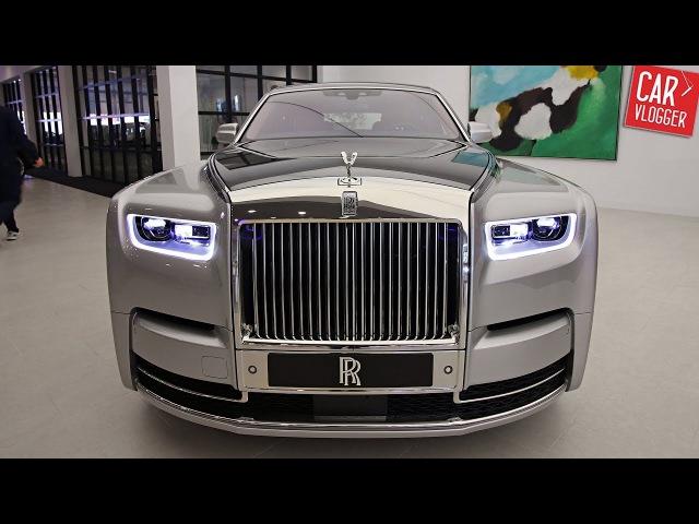 INSIDE the NEW Rolls-Royce Phantom 8 2018   Interior Exterior DETAILS