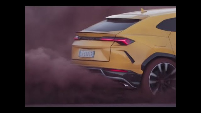 2018 Lamborghini Urus Powerful Engine Test