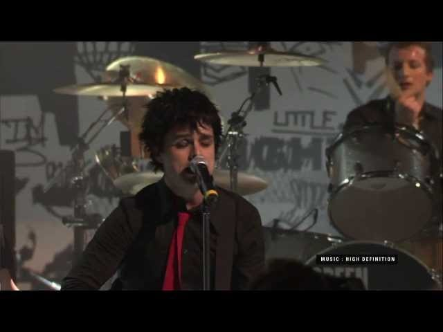 Green Day Give Me Novacaine VH1 Storytellers 2005 (HD)