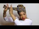 Easy Head Wrap Turban Tutorial 1 Subscribe Share Quick Hijab Tutorial Headwraps TWA Styles