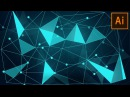 How to Create Sci-Fi Triangulated Background in Adobe Illustrator
