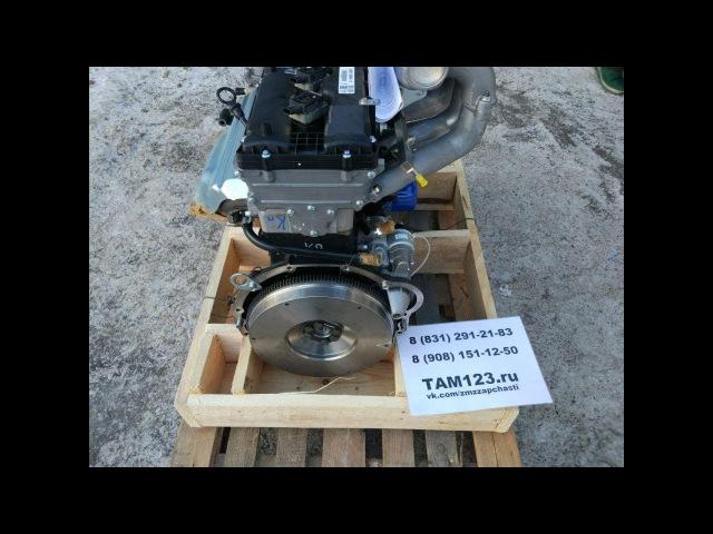 Распаковка двигателя ЗМЗ PRO 409