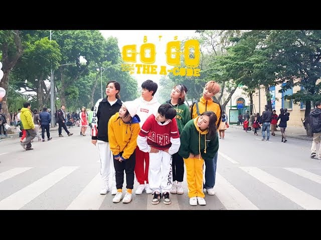 KPOP IN PUBLIC CHALLENGE GOGO 고민보다 GO BTS 방탄소년단 dance cover The A code from Vietnam