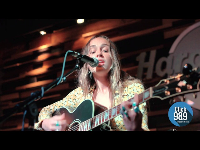 Zella Day High Live at Click 98.9's Acoustic Lounge