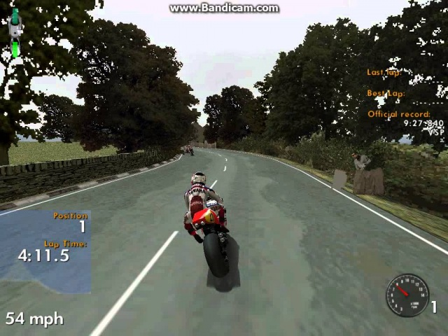 Gp500 full lap IOM TT course by girlracerTracey