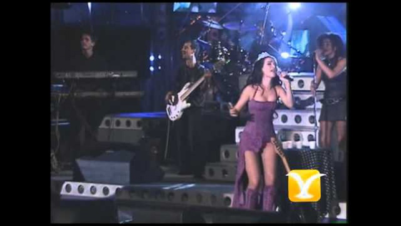 Natalia Oreiro Me muero de amor Festival de Viña 2001