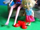 Мама Барби Маша и Медведь Доктор потеряла туфельку Мультфильм для детей