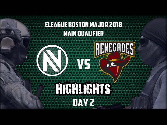 EnVyUs vs Renegades @ de cache 🗡 HIGHLIGHTS 🗡 Boston Major 2018 Main Qualifier Day 2