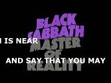 Black Sabbath - After Forever W Lyrics