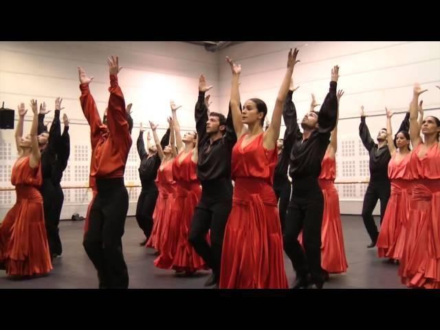 BOLERO. Coreografía del Maestro José Granero. Ensayos del Ballet Nacional de España
