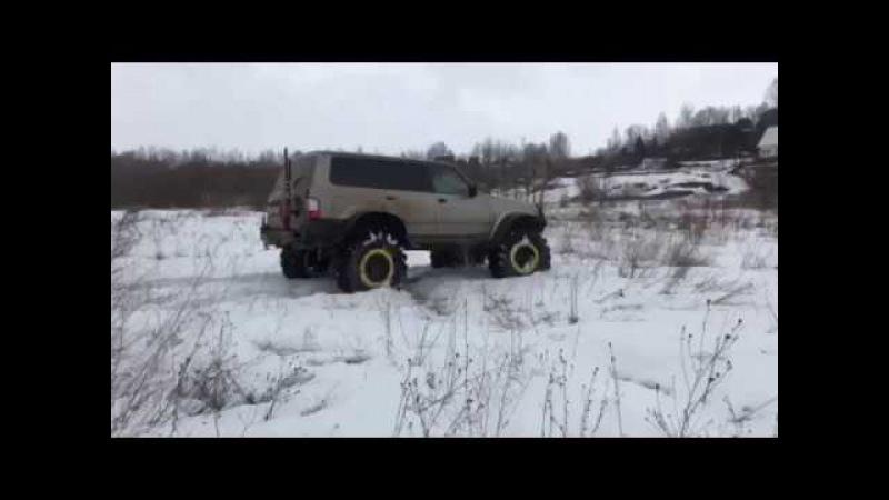 Nissan Patrol Y61 на колёсных редукторах ВОИН 4х4 voin4x4.ru