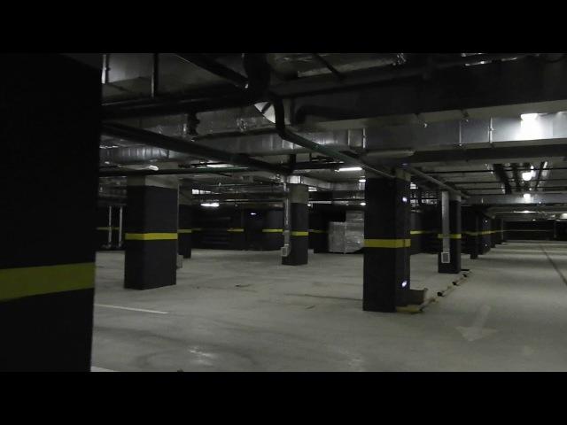 Zvezdaforum.com ЖК Золотая звезда - первая прогулка по паркингу малоэтажных корпусов