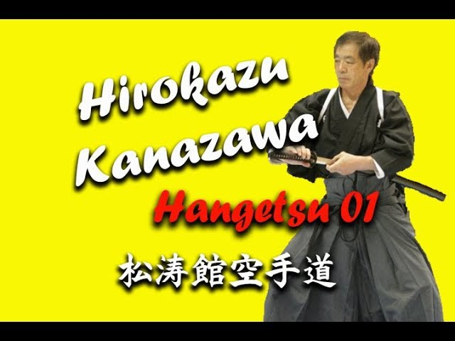Hirokazu Kanazawa (10 Dan SKIF) Hangetsu Uchi uke Gyaku tsuki
