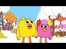 Раскраска - Ми-ми-мишки - Путешествие Цыпы - выпуск 18 - развивающие мультики для детей