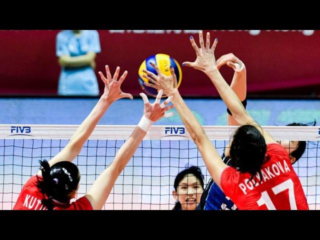 TOP 30 Best Womens Volleyball Blocks Group 1 World Grand Prix 2017
