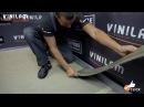 Укладка напольного винилового покрытия Vinilam с механическим замком