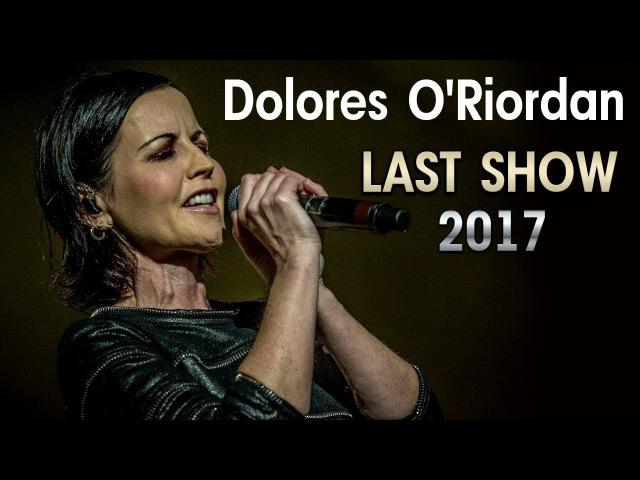 Dolores O'Riordan (The Cranberries) - LAST CONCERT, LONDON 2017