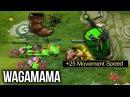 Wagamama Techies LVL 25 Talent Tree 25 Mine Movement Speed Sneaky Plays - Dota 2