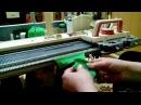 Вывязывание ластика резинки самый простой и оригинальный способ для однофонтурных машин