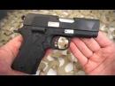 Colt New Agent Compact 1911 45ACP Crimson Trase Laser Grips Overview Texas Gun Blog