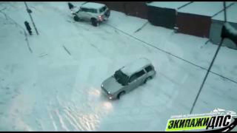 Подборка аварий г.Владивосток 17 ноября 2017 снегопад