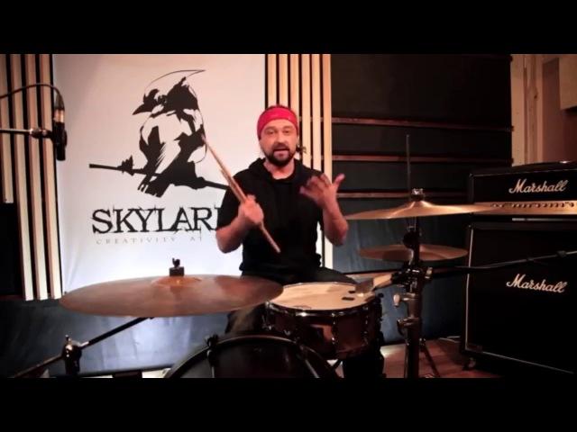 Денис Попов Техника игры на барабанах Уроки 1 - 4