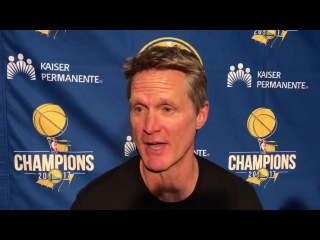 Steve Kerr Postgame Interview / GS Warriors vs Jazz / Jan 30