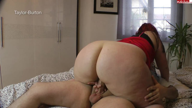 Peliroja Alemana 35 Taylor Burton big ass butts booty tits boobs bbw pawg curvy mature
