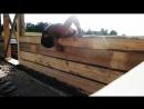 Деревянный дом своими руками. Строительство дома от фундамента до крыши