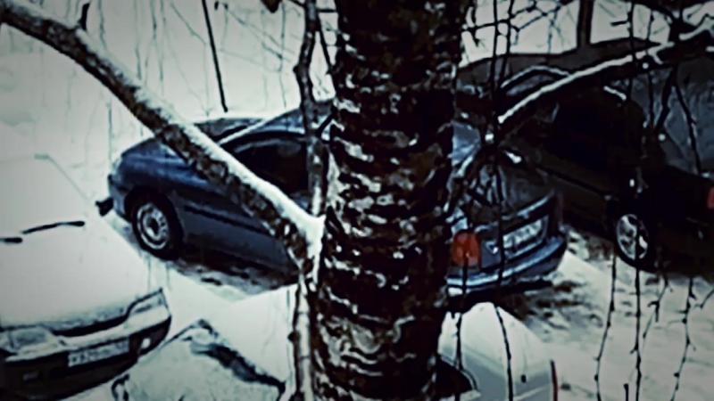 Оттепель в Нижнем Новгороде.Моросит мелкий дождик. 2' , 04.02.18